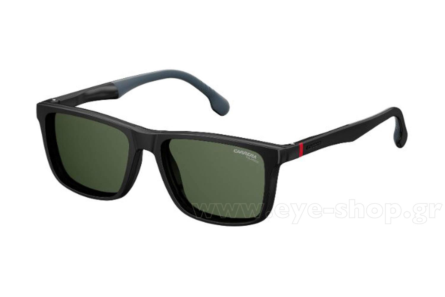Carrera μοντέλο CARRERA 4009 CS στο χρώμα 0807 (UC) magnetic clipon sunglasses